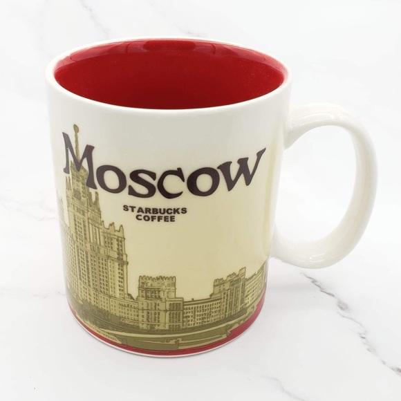 Starbucks Moscow 2012 Mug Global Icon Collection